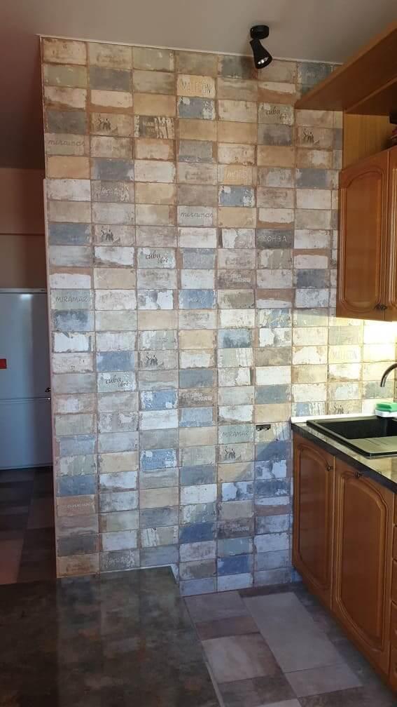 Барвиха 30, стена кухни