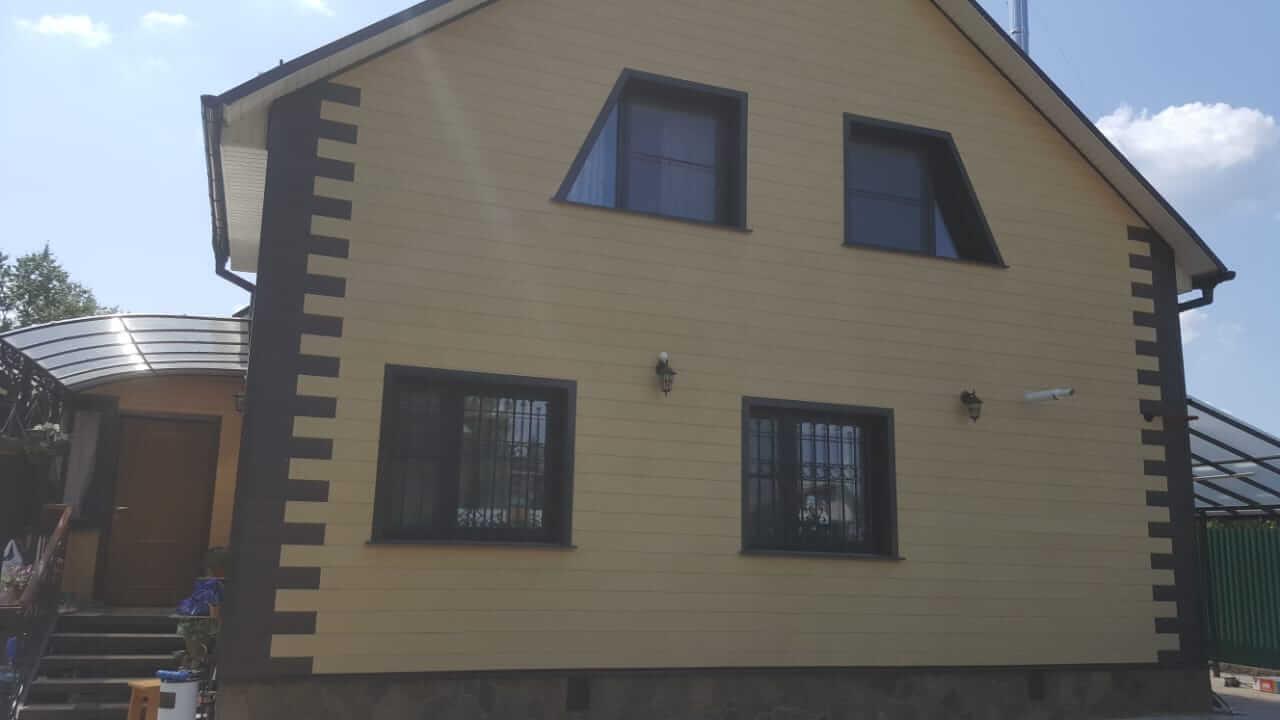 Дорохово, фасад дома фото 1