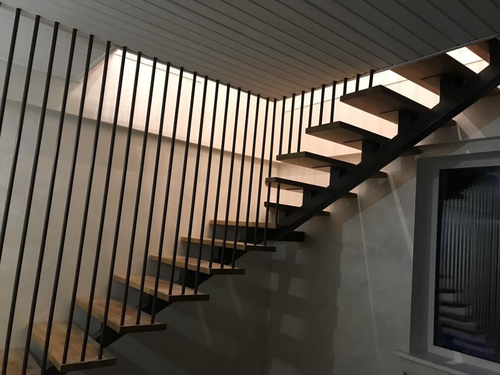 Дом 50м2 лестница фото 1